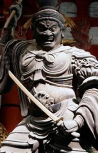 東寺 持国天像