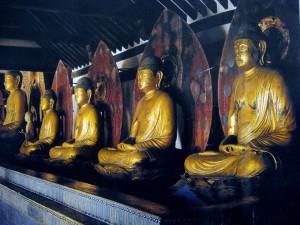 浄瑠璃寺九品仏